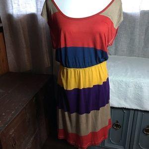 Xl miss chevous cross back short maxi sundress